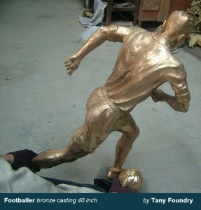 Lost wax bronze casting foundry China